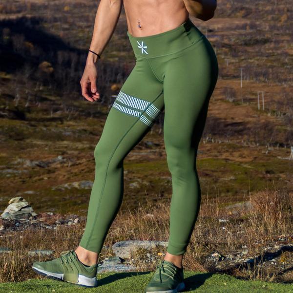 6b27ca2c4e1 BARA Sportswear - Olive Signature Tights